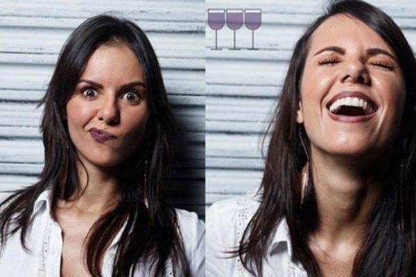 Como as pessoas ficam após algumas taças de vinho