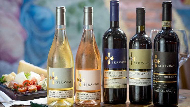 Restaurante Serafina lança sua própria linha de vinhos italianos
