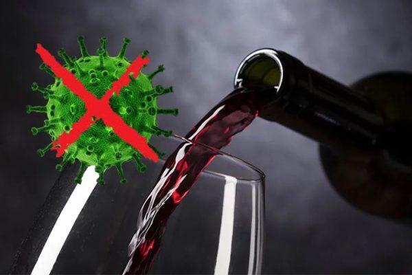 Sabia que o Coronavírus morre no vinho?