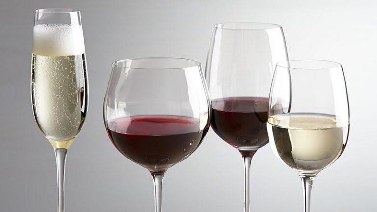 Qual a taça de vinho ideal pra cada tipo de vinho?