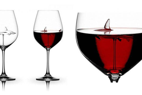 Taças criativas, para se divertir na hora de tomar vinho!