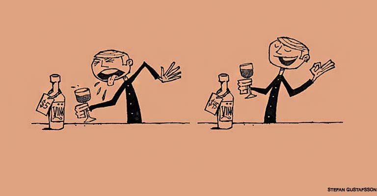 O preço influencia em como as pessoas avaliam um vinho, afirma estudo