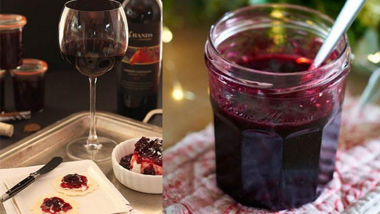 Receita: Geleia de Vinho Tinto