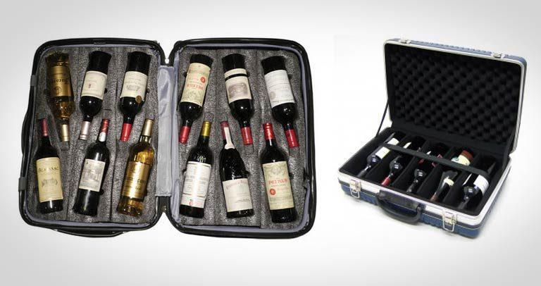 Mala De Vinhos: A mala que todo viajante que ama vinhos precisa ter!