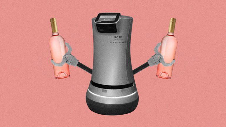 Hotel na Califórnia possui robô que entrega vinho no quarto, sem contato humano!