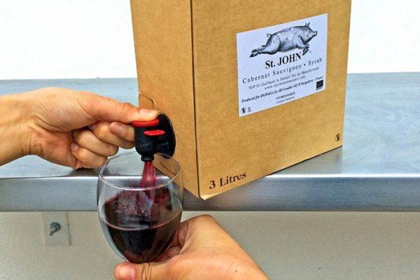 Vinhos bag-in-box tem sido os preferidos dos britânicos nessa quarentena