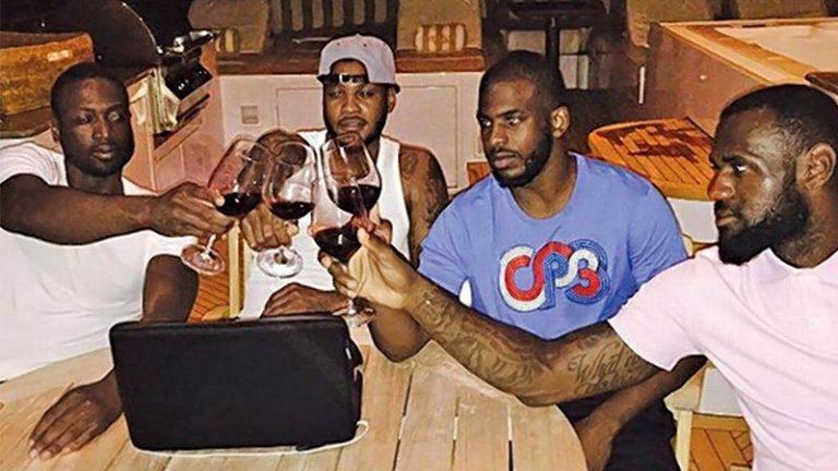 Vinho tem sido a grande paixão dos astros da NBA durante o isolamento