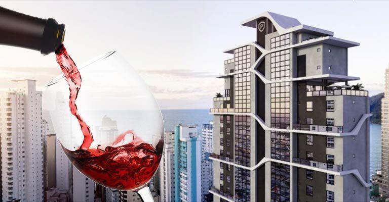 Residencial inspirado no universo dos vinhos será lançado em Balneário Camboriú