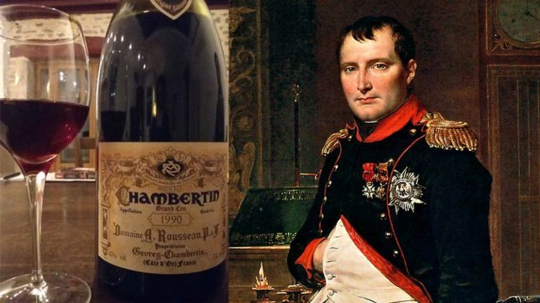 Chambertin, o vinho preferido de Napoleão Bonaparte