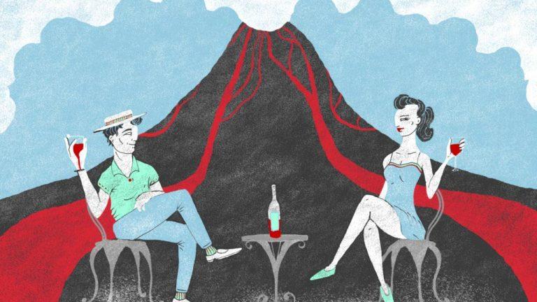Vinhos vulcânicos entram em erupção no mundo dos vinhos!