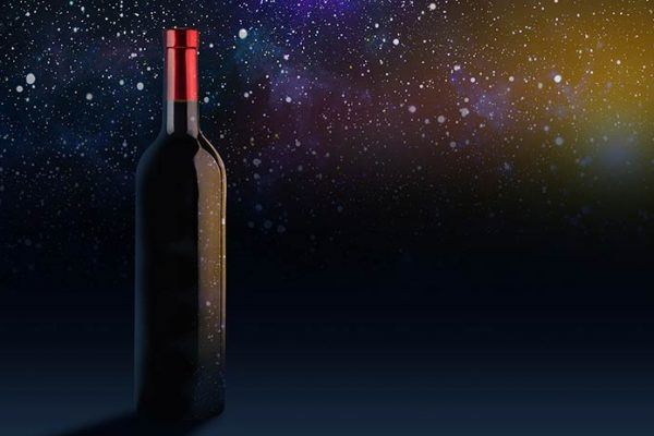 Vinho envelhecido no espaço será colocado à venda por US$ 1 milhão!