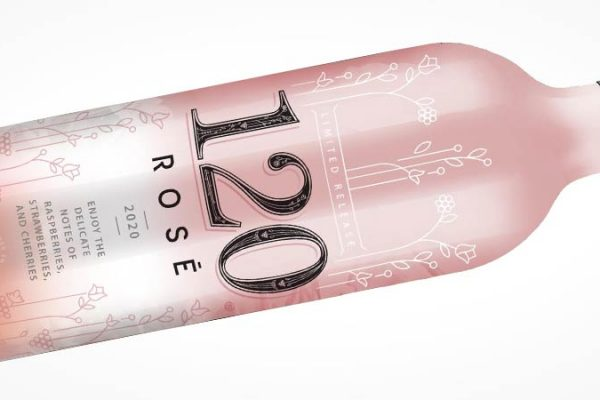Vinícola lança Rosé com embalagem que muda de cor quando está na temperatura ideal para o consumo