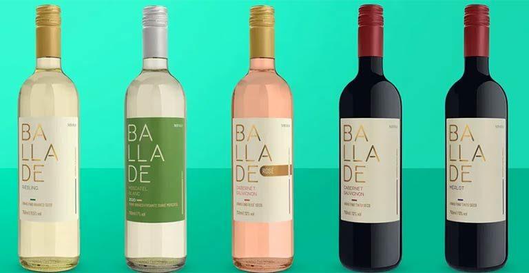 Wine lança linha de vinhos em parceria com a Vinícola Miolo