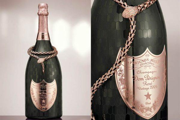 Dom Pérignon lança champagne em parceria com a Bvlgari