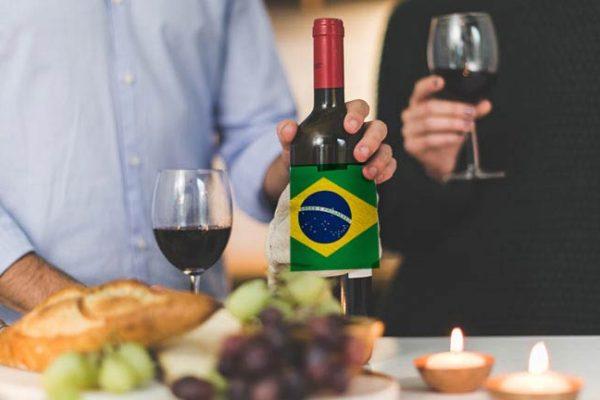 Brasil foi o país onde o consumo de vinho mais cresceu no mundo em 2020