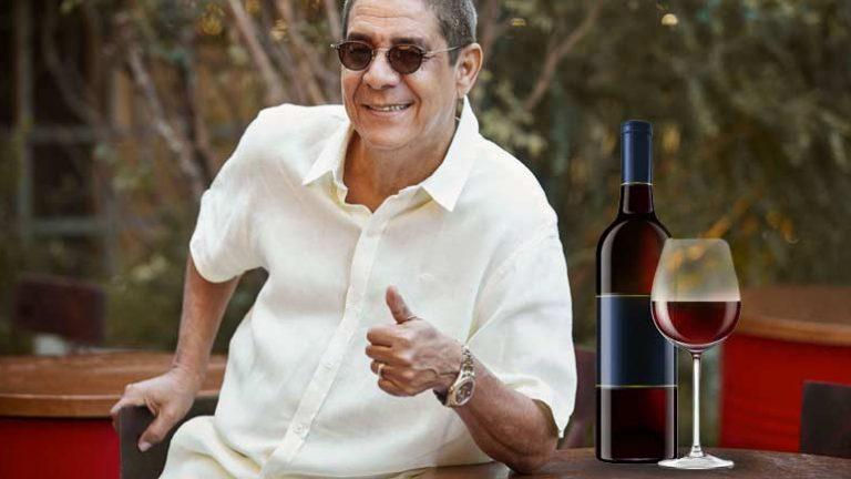 Zeca Pagodinho revela que trocou cerveja por vinho nessa pandemia