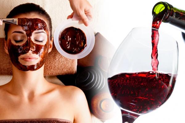 Terapia do vinho, o tratamento de que você precisa para uma pele sem rugas