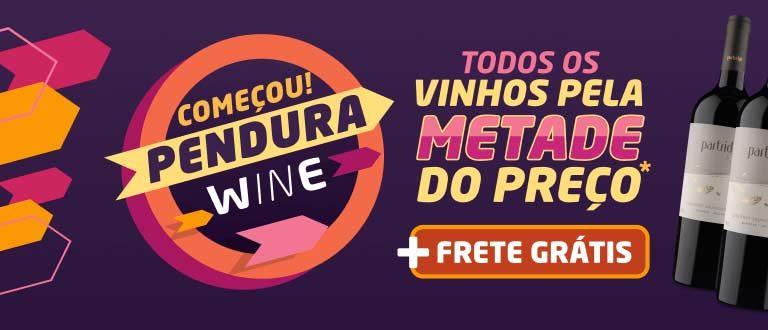 Dia da Pendura na Wine: Você só paga metade do valor das compras!
