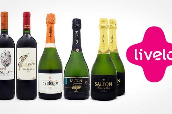 Compre vinhos na Salton e ganhe pontos Livelo!